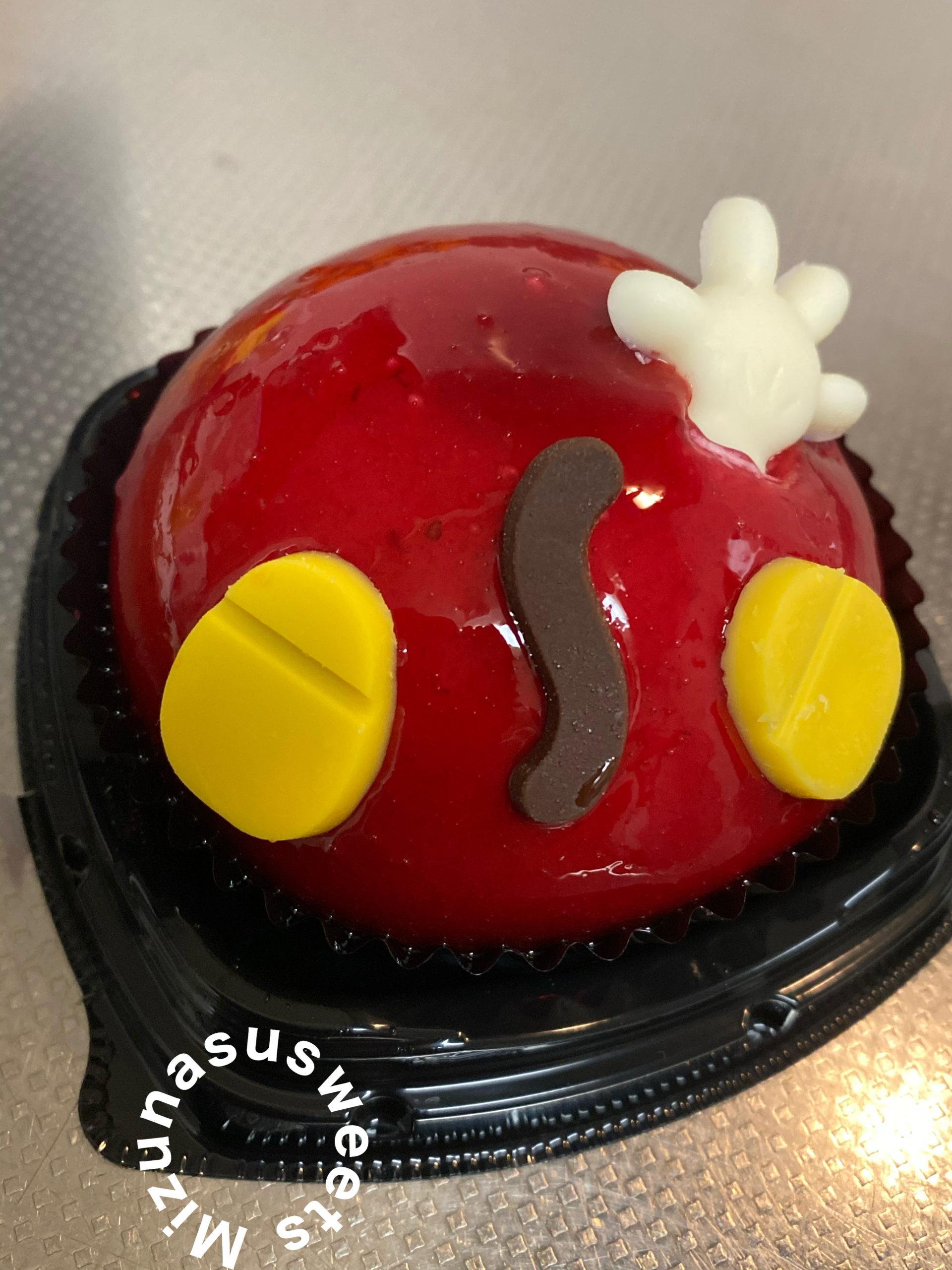 セブンイレブンスイーツのミッキーのケーキ