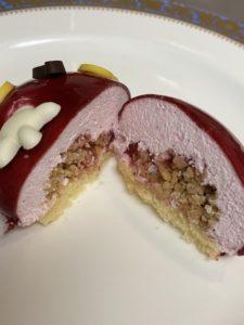 セブンイレブンのミッキーのケーキ