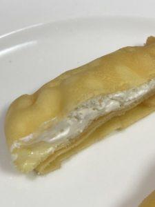 セブンスイーツのもっちりクレープ ダブルレアチーズクリーム