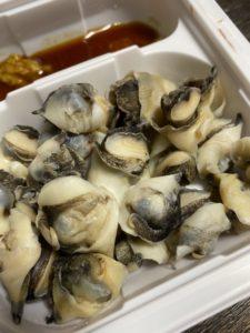 セブンプレミアム「貝のうま味が味わえるあかにし貝」