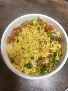 セブンイレブン購入「拉麺大公味噌ラーメン」
